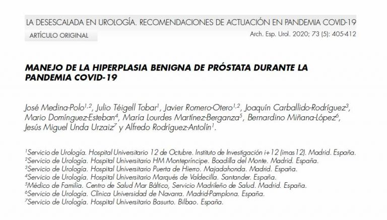 covid-19-hiperplasia-benigna-próstata