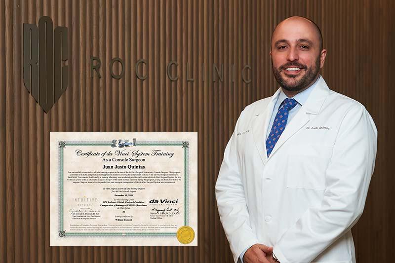 Cirugía robótica en Urología