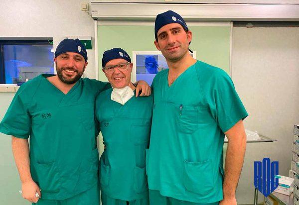 Extracción renal del Servicio de Urología de HM Hospitales en Madrid