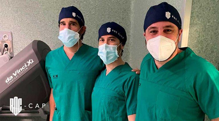 Cirugía robótica en HM Hospitales